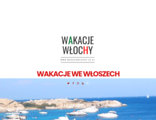 wakacjewlochy.lh.pl screenshot