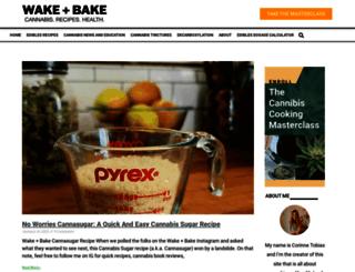 wakeandbakecookbook.com screenshot
