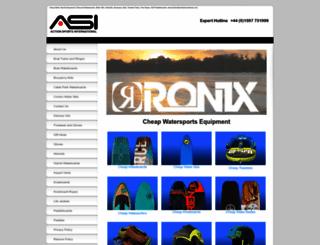 wakesurfingdirect.co.uk screenshot