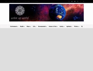 wakeup-world.com screenshot