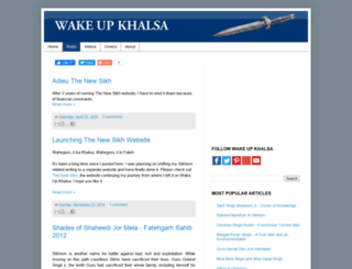 wakeupkhalsa.blogspot.com screenshot