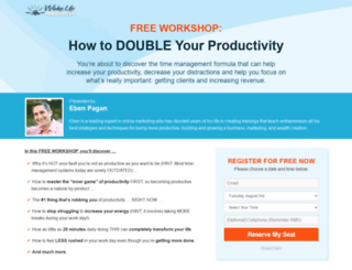 wakeupproductive.com screenshot