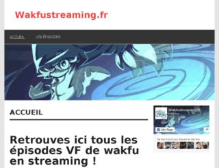 wakfustreaming.fr screenshot
