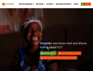 wakibi.nl screenshot