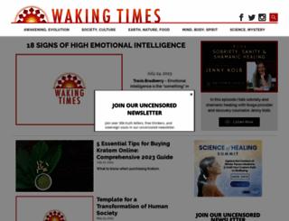 wakingtimes.com screenshot