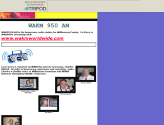 wakm950am.tripod.com screenshot