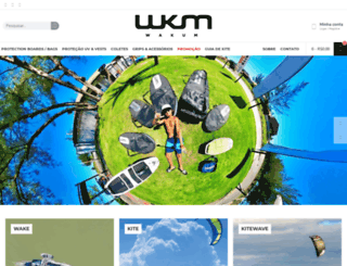 wakum.com.br screenshot