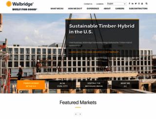 walbridge.com screenshot