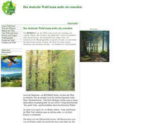 wald.lauftext.de screenshot