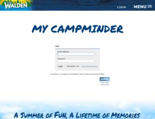 walden.campintouch.com screenshot
