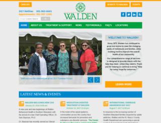 walden.server309.com screenshot