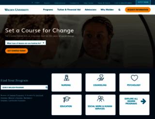 waldenu.edu screenshot