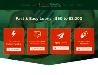 waldofinancial.com screenshot