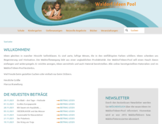 waldorf-ideen-pool.de screenshot