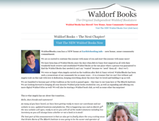 waldorfbooks.com screenshot