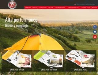waldstore.com.ar screenshot