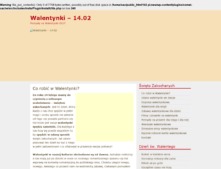 walentynkowe.com.pl screenshot