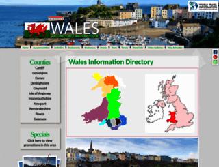 wales-info.co.uk screenshot