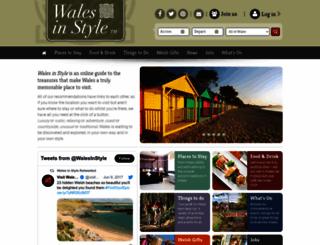 walesinstyle.com screenshot