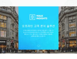 walkanalytics.com screenshot