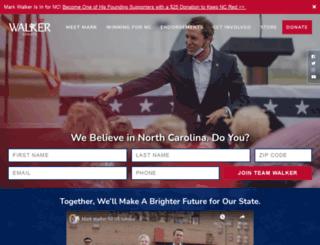walker4nc.com screenshot