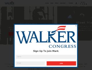 walker4nc.nationbuilder.com screenshot
