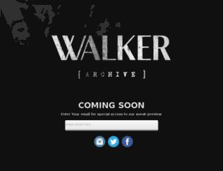 walkerarchive.com screenshot