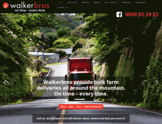 walkerbros.co.nz screenshot