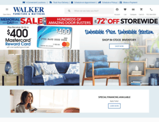 walkerfurniture.com screenshot