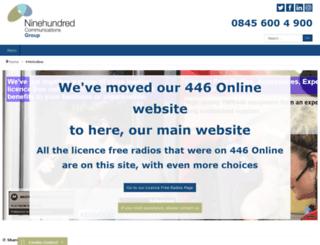 walkietalkiesonline.co.uk screenshot