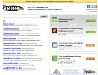 walkinfeed.com screenshot