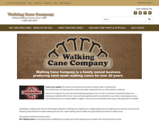 walkingcaneco.com screenshot