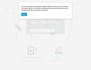 walkinwebstore.com screenshot