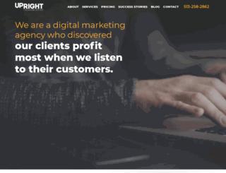 walkupright.com screenshot