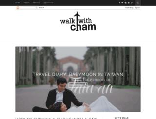 walkwithcham.blogspot.com screenshot