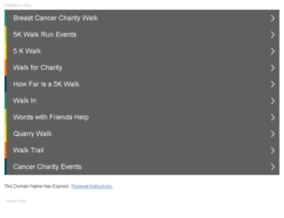 walkwithfriends2014.org screenshot