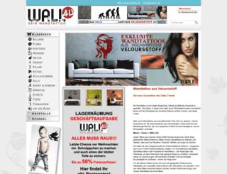 wall4u.de screenshot