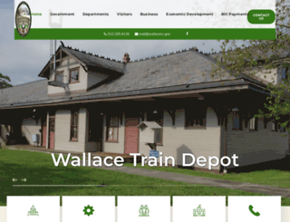 wallacenc.gov screenshot