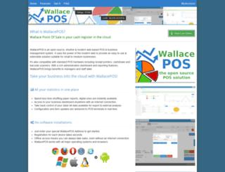 wallacepos.com screenshot