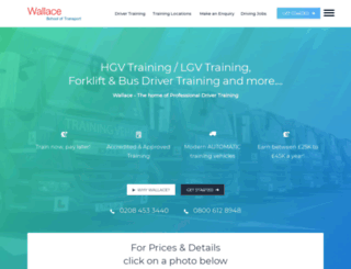 wallaceschool.co.uk screenshot