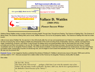 wallacewattles.wwwhubs.com screenshot
