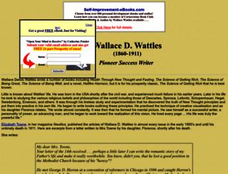 wallacewattles.wwwhubs.com screenshot