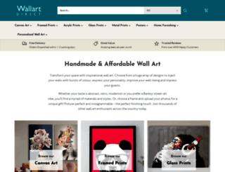 wallart-direct.co.uk screenshot