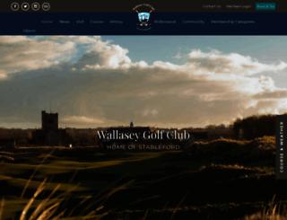 wallasey.intelligentgolf.co.uk screenshot