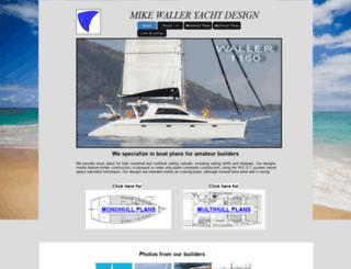 wallerdesign.com.au screenshot