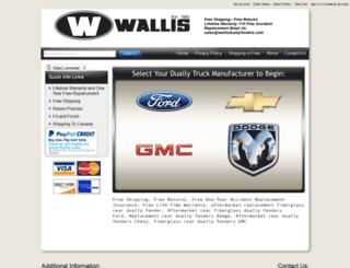 wallisduallyfenders.com screenshot
