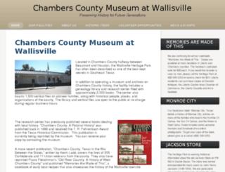 wallisville.com screenshot