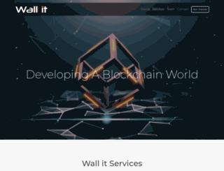 wallit.co.za screenshot