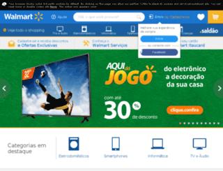 wallmart.com.br screenshot