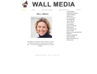 wallmedia.com.au screenshot